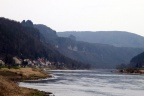 Elbe in Bad Schandau